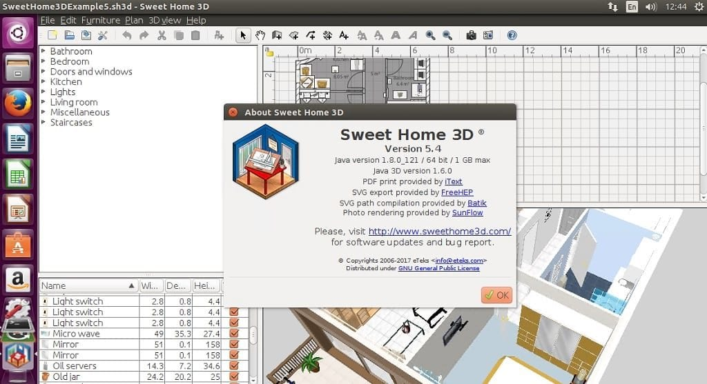 how to install sweet home 3d 5 4 on linux it s all about